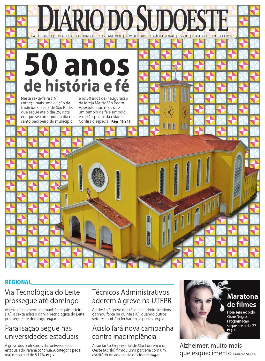 c3e1d206f5 Diário do sudoeste 19 de junho de 2015 ed 6405 by Diário do Sudoeste - issuu