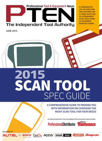 2015 scan tool spec guide by J & M Enterprises - issuu