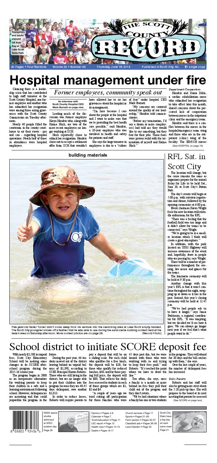 Scott County Record by The Scott County Record - issuu 4377c74dbe7c