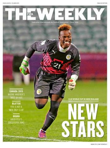 b6f3da87dcc The FIFA Weekly Issue  24 by Fédération Internationale de Football ...