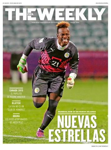 The FIFA Weekly Edición  24 by Fédération Internationale de Football ... 23c135038d671