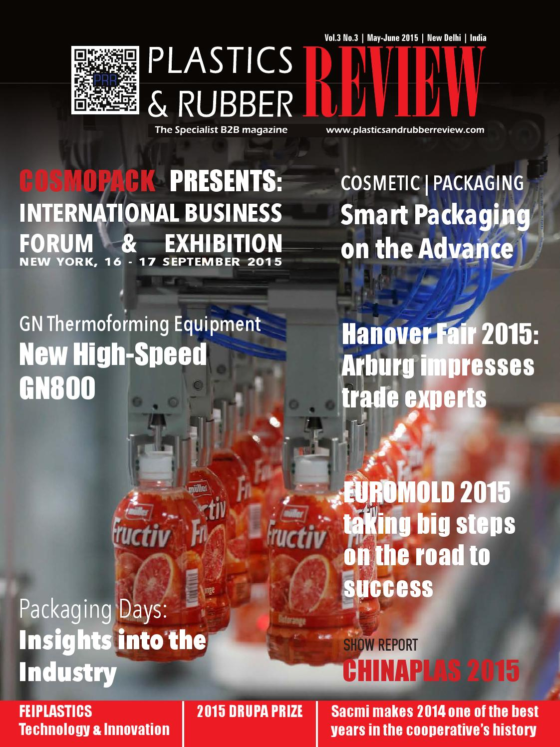 Plastics & Rubber Review', May-June 2015 by Worldwide