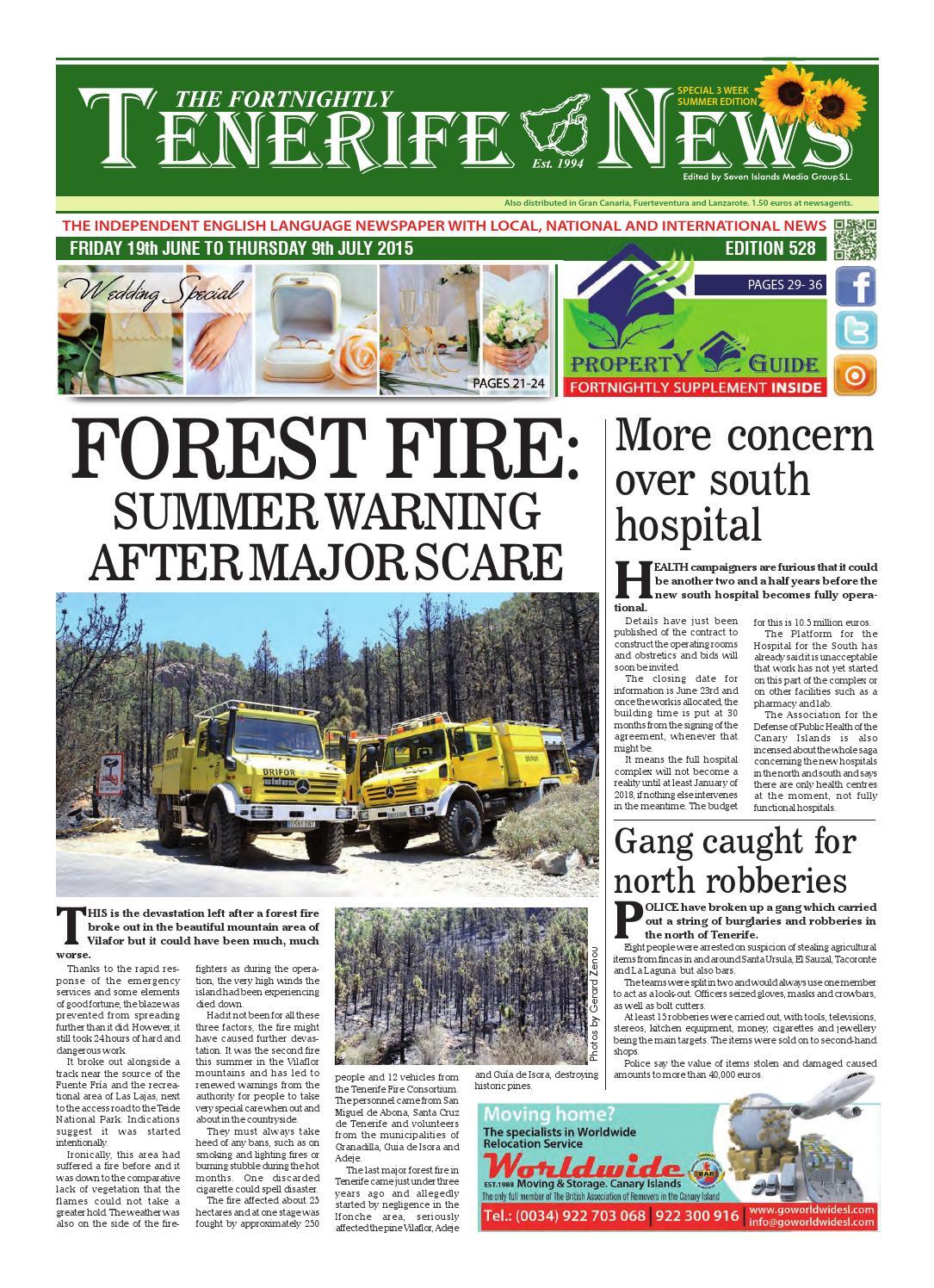0f32ba8493fc Edition 528 by Tenerife News - issuu