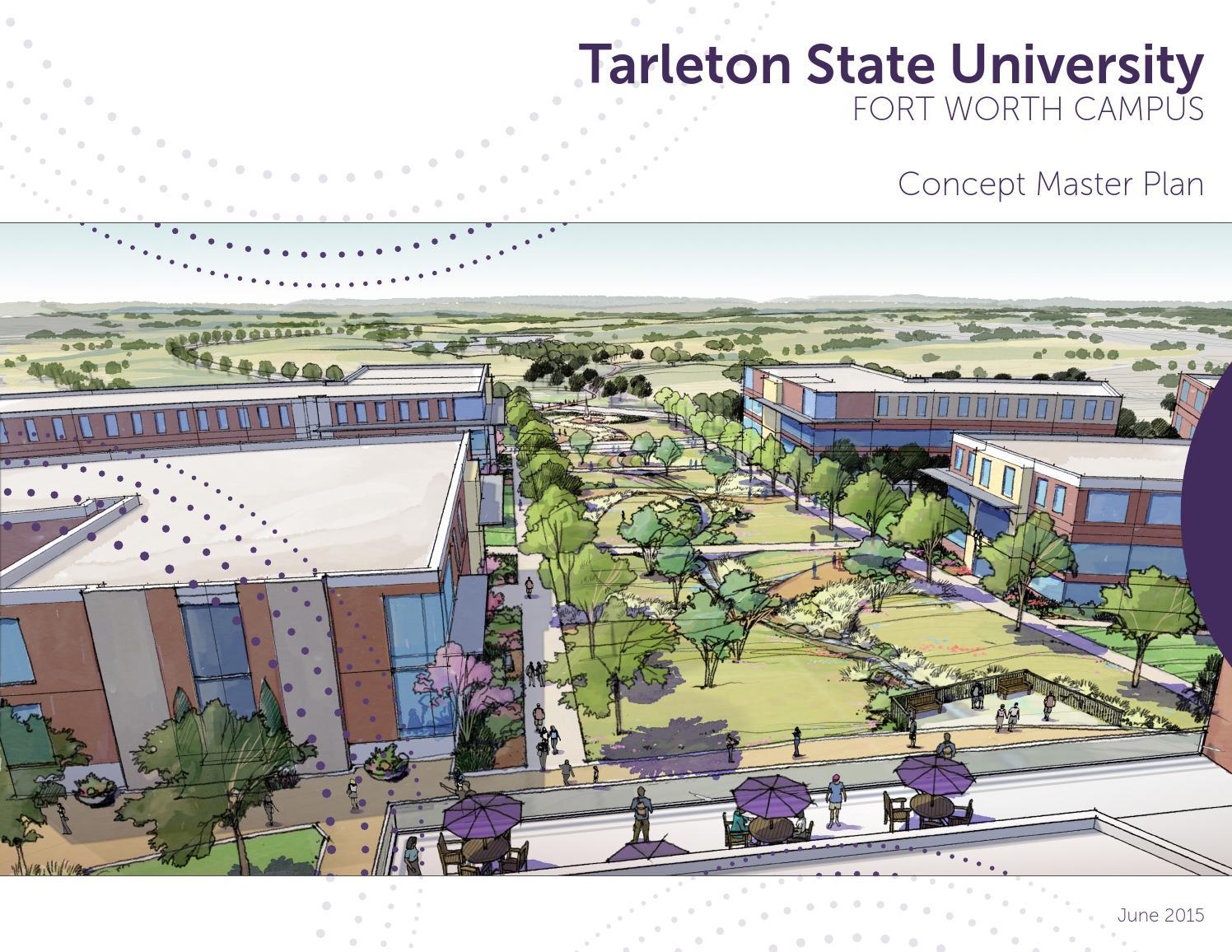 Tarleton State Campus Map.Tarleton State University Fort Worth Campus Concept Plan By Broaddus