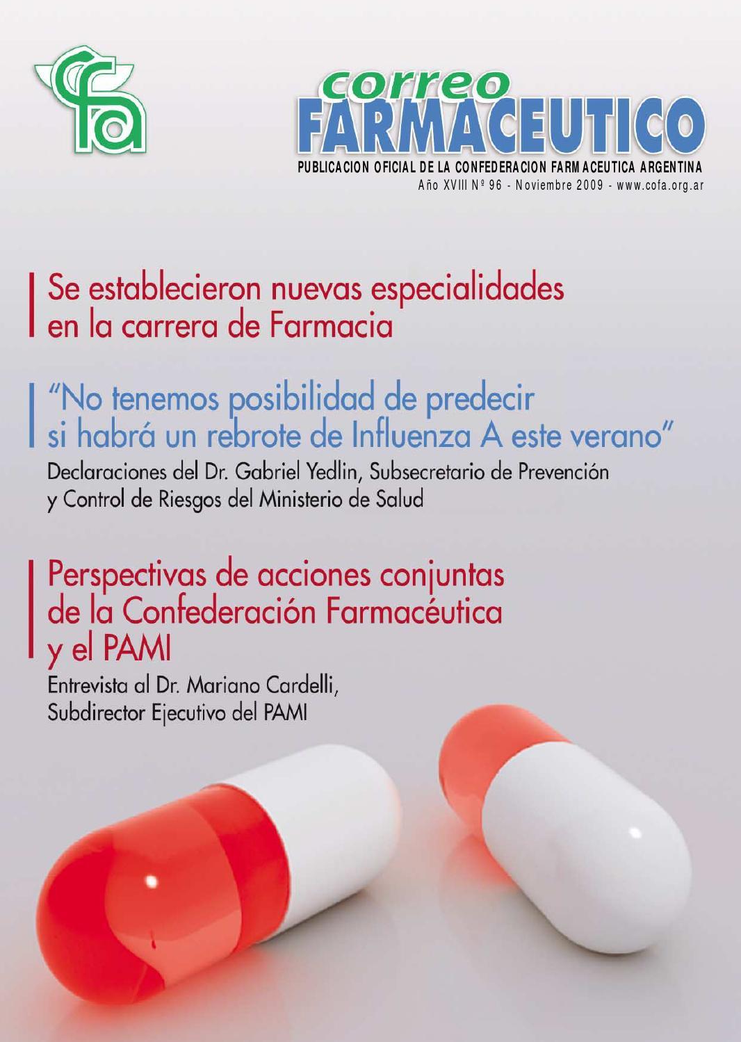 Correo Farmacéutico 96 by Confederación Farmacéutica Argentina ...