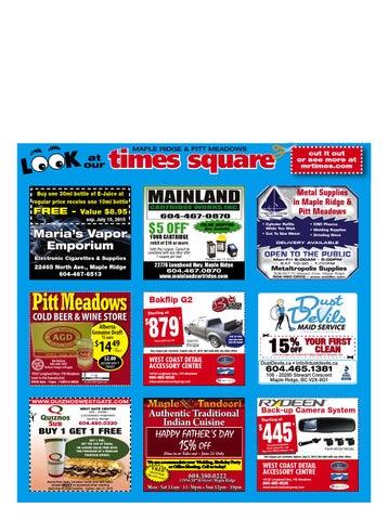 Maple Ridge Pitt Meadows Times June 18 2015 by Maple Ridge