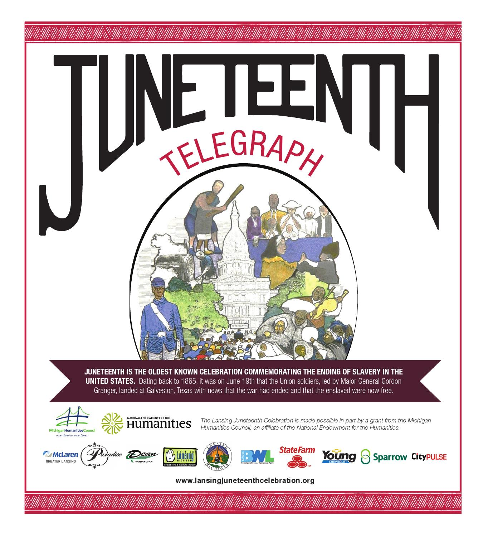 Juneteenth Telegraph By Rachel Harper Issuu