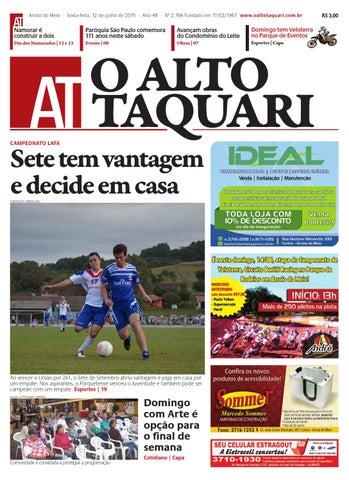 0d9428f5e2 Jornal O Alto Taquari - 12 de junho de 2015 by Jornal O Alto Taquari ...