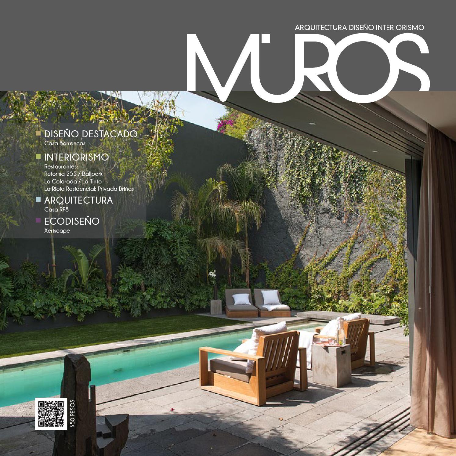 Edici n 17 revista muros arquitectura dise o for Diseno de ambientes y arquitectura de interiores