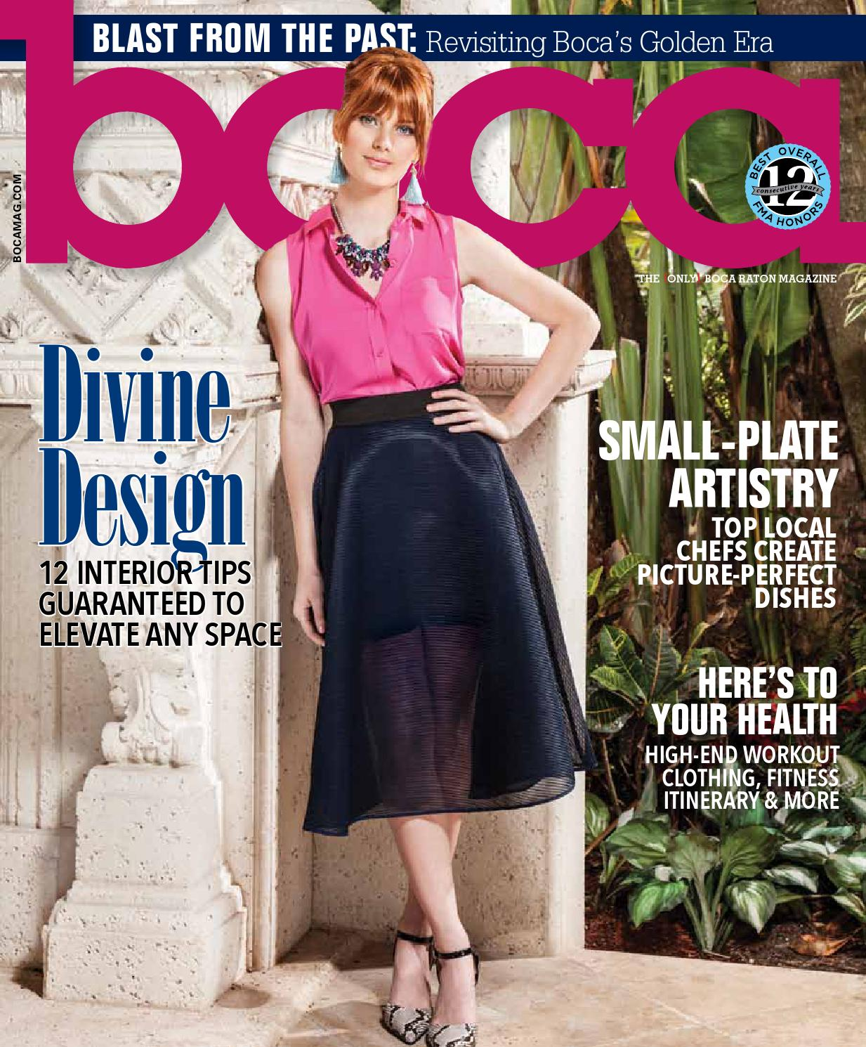 Boca Raton Magazine May June 2015 by JES Media - issuu a0ce54c168ec8