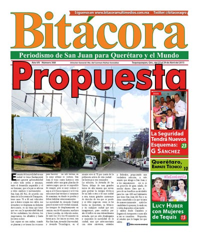 bb3faf1f0c Bitácora 368 by Adriana Vázquez Jaramillo - issuu