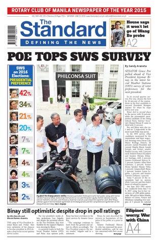 be212df8ac7941 The Standard - 2015 June 20 - Saturday by Manila Standard - issuu