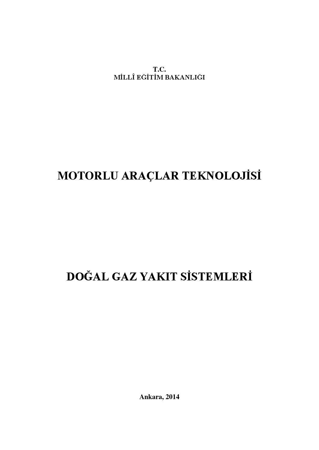 Doğal gazın özellikleri ve yoğunluğu