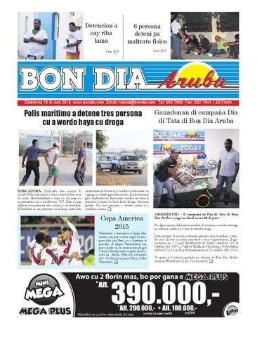BON DIA ARUBA NOTICIA 19 JUNI 2015 by Bon Dia Aruba - issuu f68a2e3d4af8e