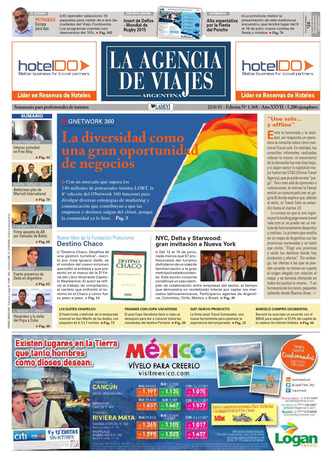 0e730634dc4 La Agencia de Viajes Argentina N° 1.368 by Ladevi Media   Solutions - issuu