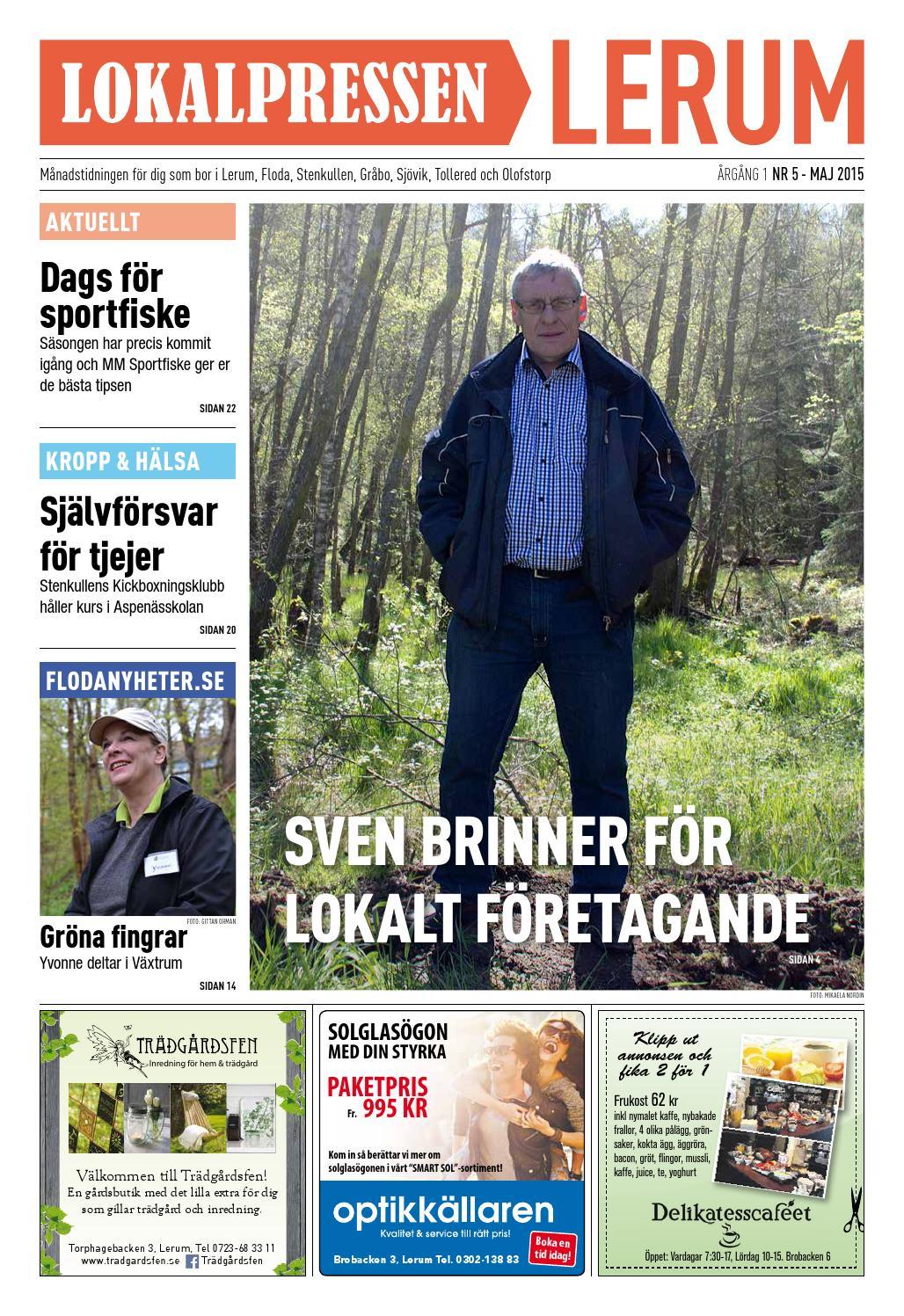 Lokalpressen Lerum Nr 5 2015 By Lokalpressen Issuu