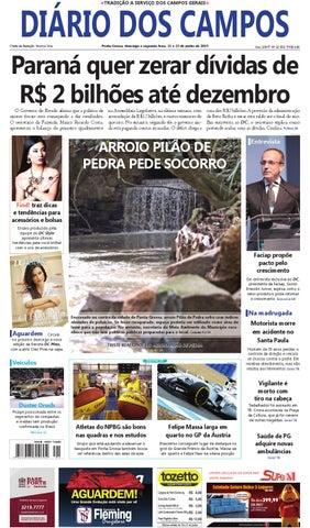 DIÁRIO DOS CAMPOS TRADIÇÃO A SERVIÇO DOS CAMPOS GERAIS 7e3a943ee0