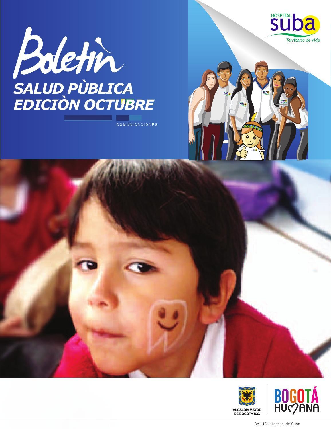Boletin salud pública edición #5 (2013) by HOSPITAL SUBA - issuu