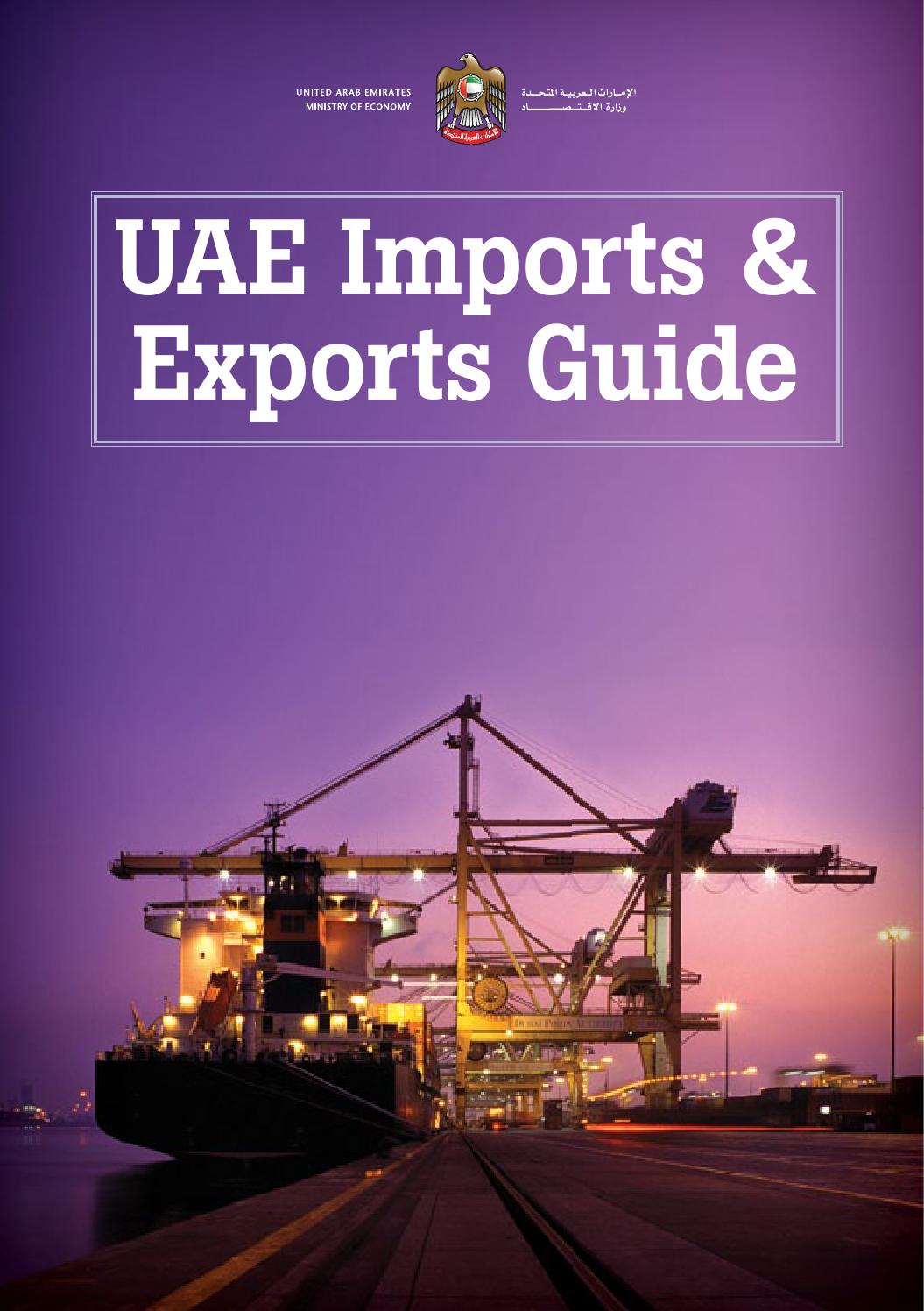 UAE Imports & Exports Guide by Motivate Publishing - issuu