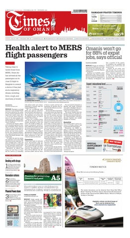 Times of Oman - June 21, 2015