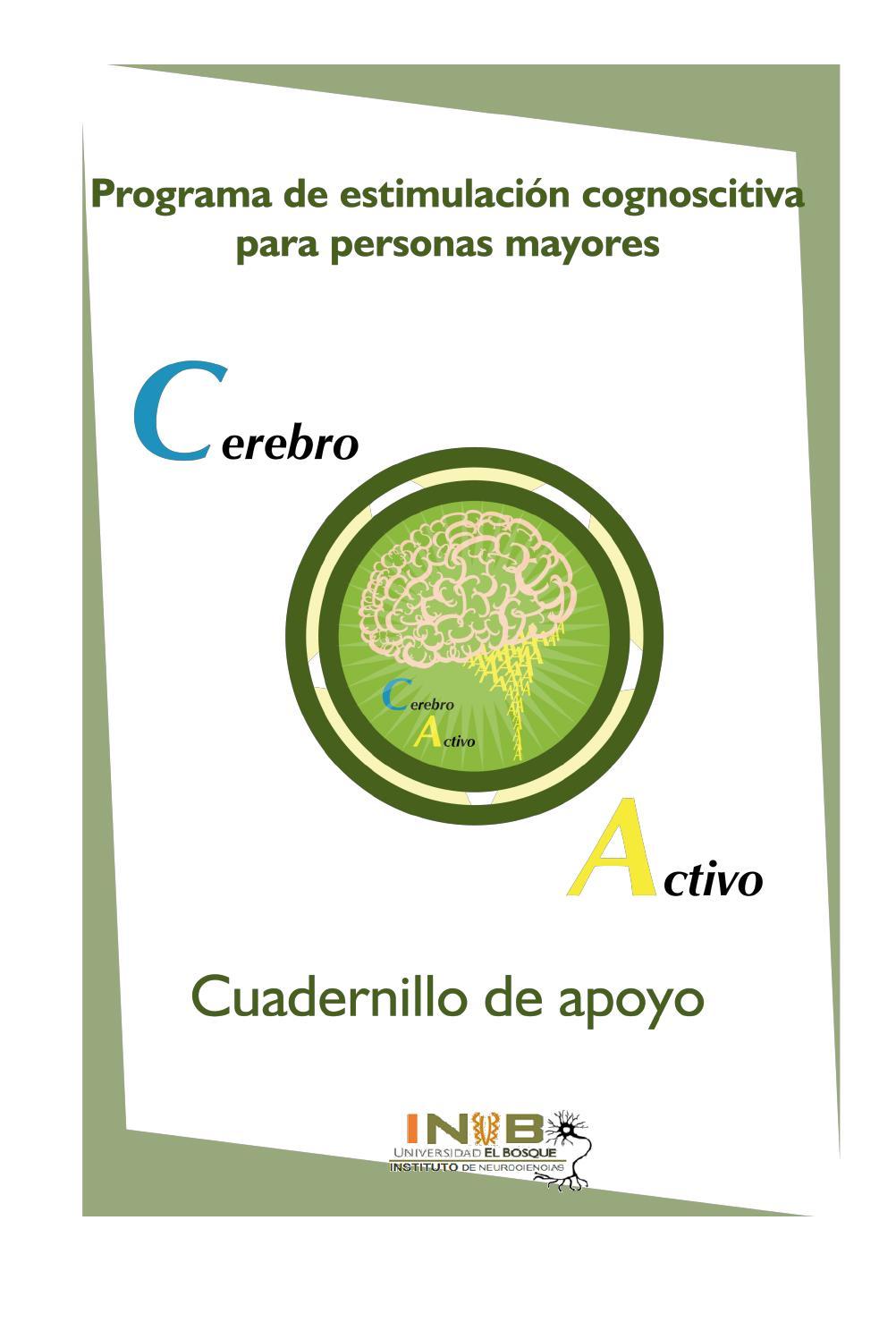 Cuadernillo Cerebro Activo By Angela Pereira M Issuu
