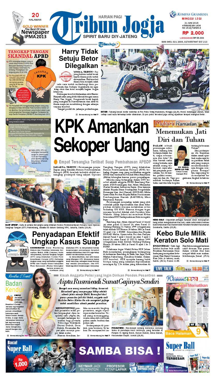 Tribunjogja 21 06 2015 By Tribun Jogja Issuu Produk Ukm Bumn Box Hantaran Pengantin Bio Art
