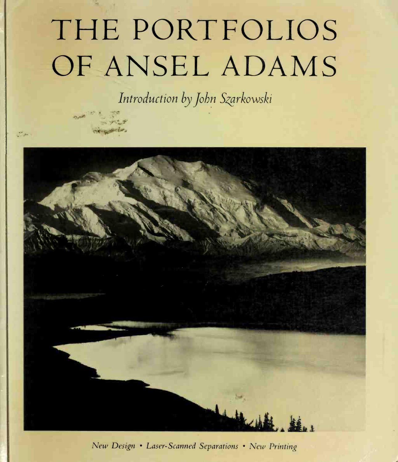 a special issue the national parks and three photographic portfolios by ansel adams