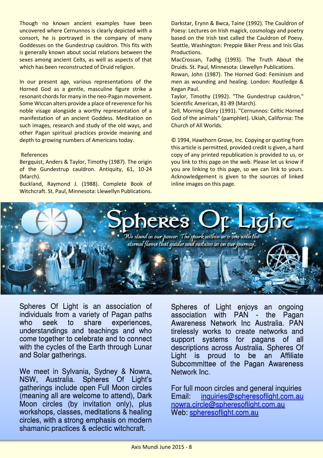 Axis Mundi Winter Issue 59 by Spheres Of Light (SOL