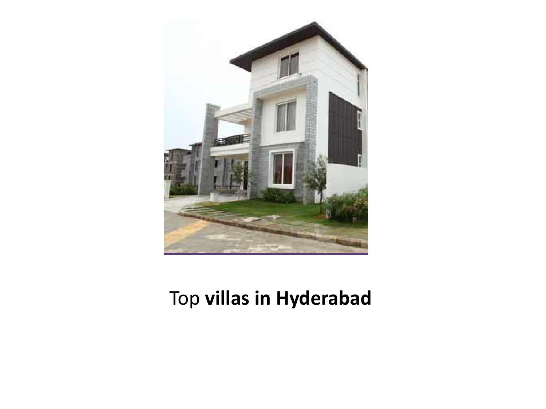 Top Villas In Hyderabad By David Wilcox Issuu Villasa