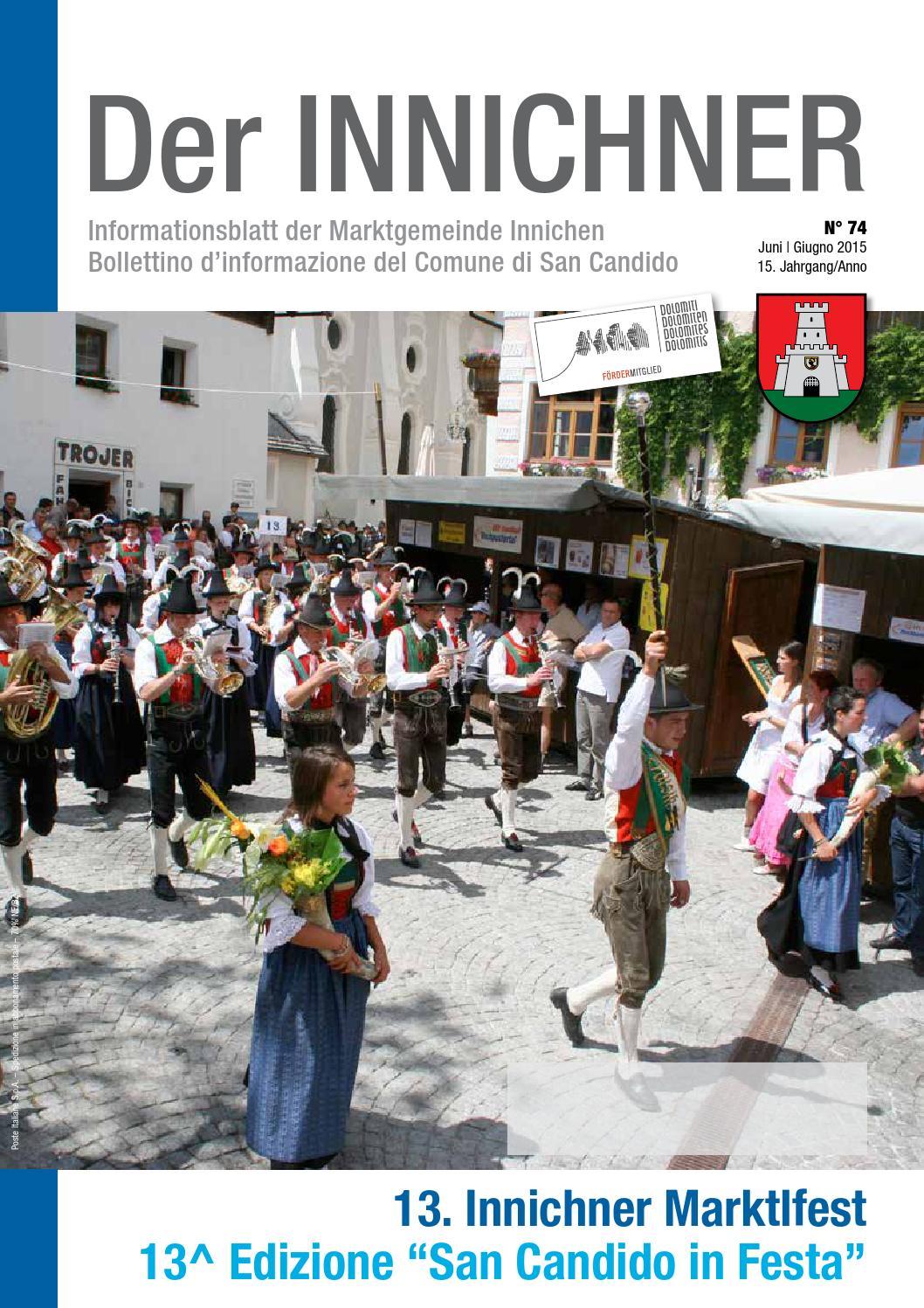 Nr./n. 74 2015 Der Innichner by Gemeinde Innichen - issuu