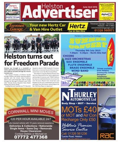 Helston Advertiser June 23rd 2015 By Helston Advertiser Issuu