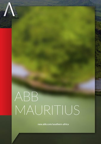 ABB Mauritius | Company Brochure by Aspire Africa - issuu