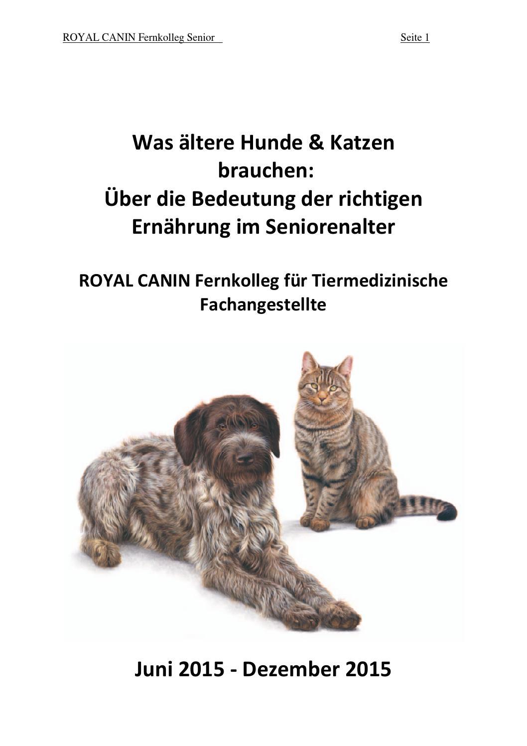 Royal Canin plötzlichen Gewichtsverlust