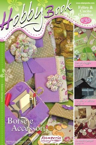 Hobby Book 30  Feltro e cucito creativo by Stamperia S.r.l. - issuu 60971a789eb8