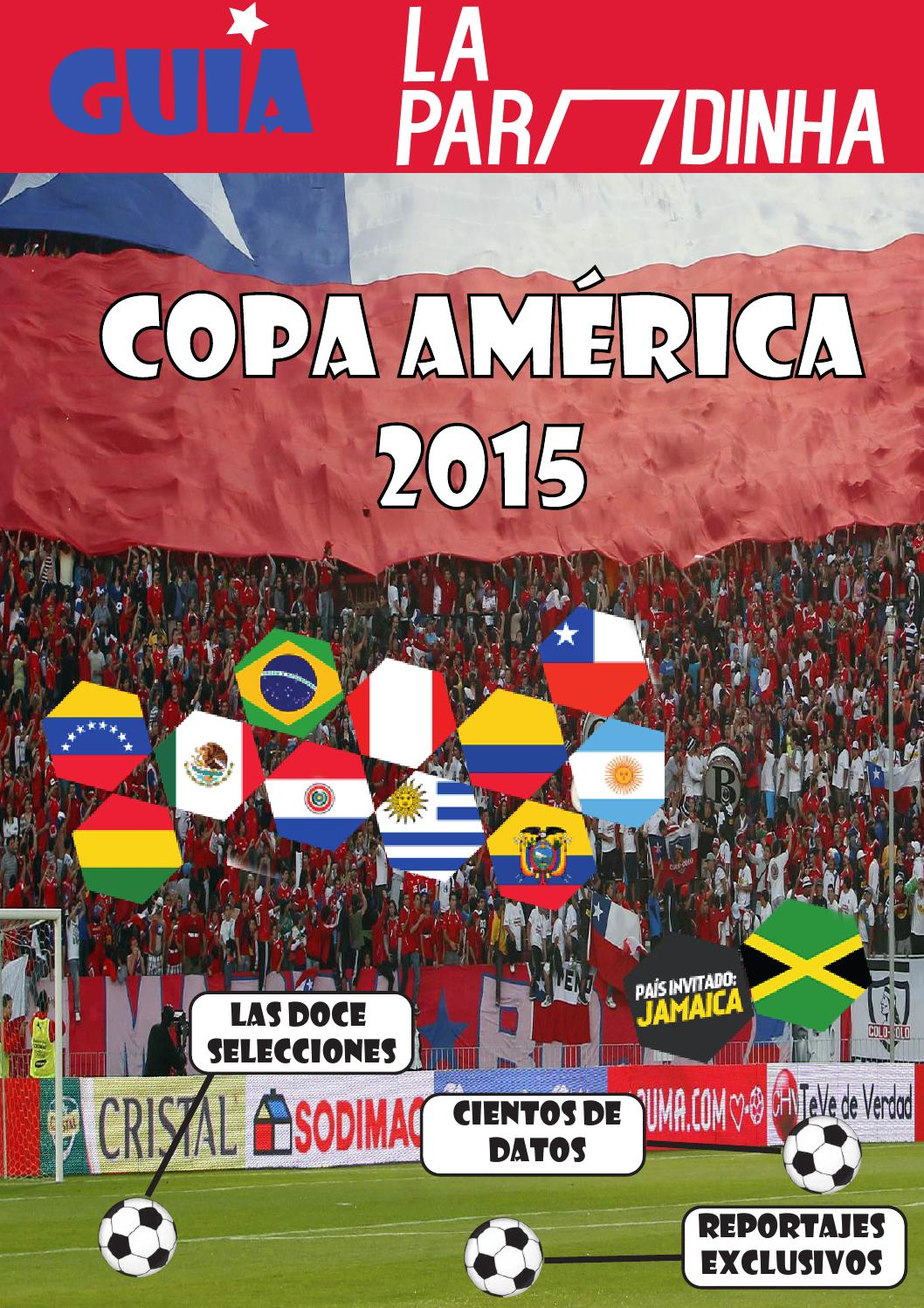 huge selection of 57644 975f4 Guía La Paradinha Copa América 2015 by Ignacio Mateo Martín - issuu