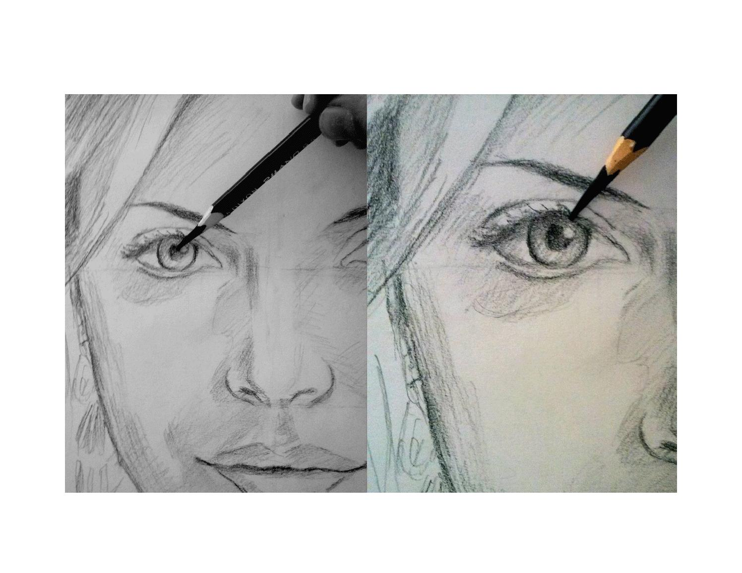 How To Draw For Beginners Realistic Drawing Step By Step Portrait