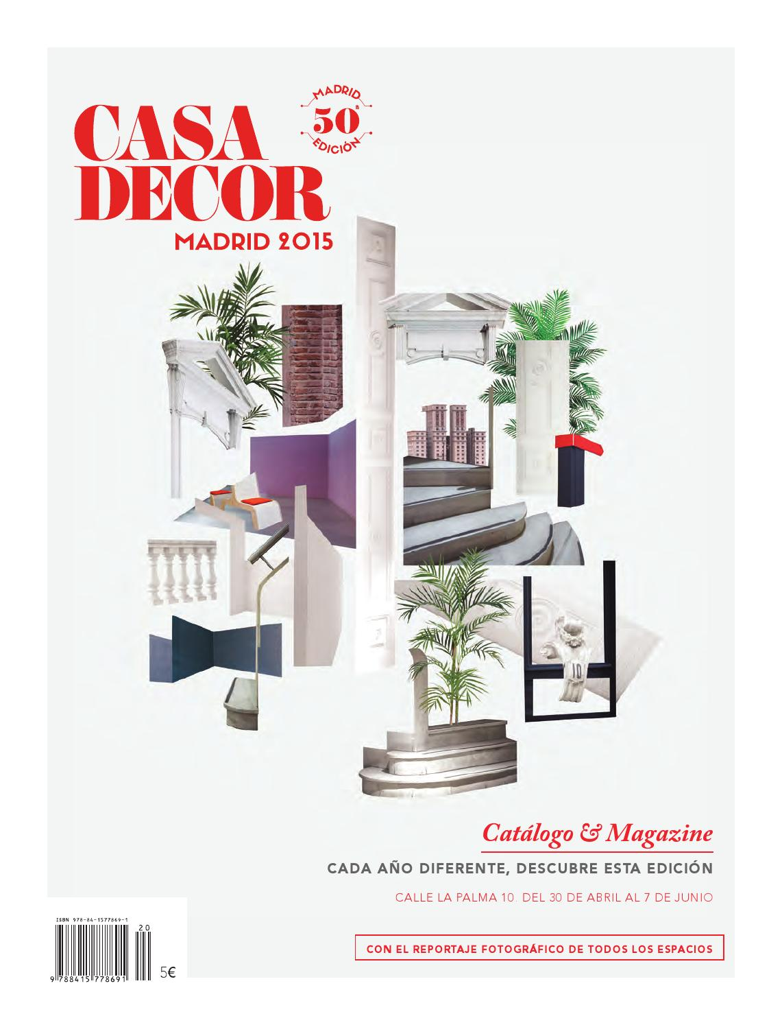 Casa Decor Madrid 2015 by Casa Decor - issuu cf5d2a94ac5af