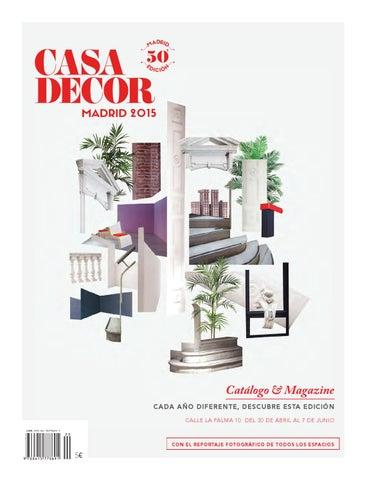 bc67f7413e7 Casa Decor Madrid 2015 by Casa Decor - issuu