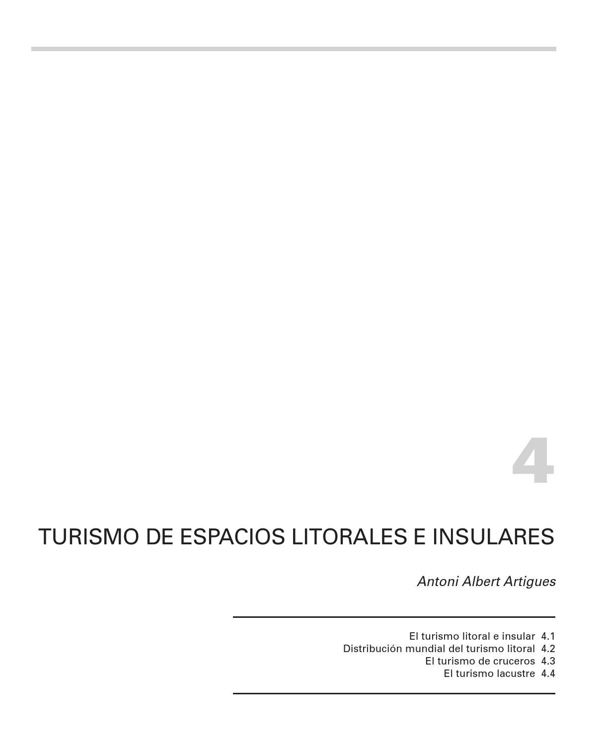 Geografia Mundial del Turismo. Parte II: LOS TIPOS DE TURISMO ...