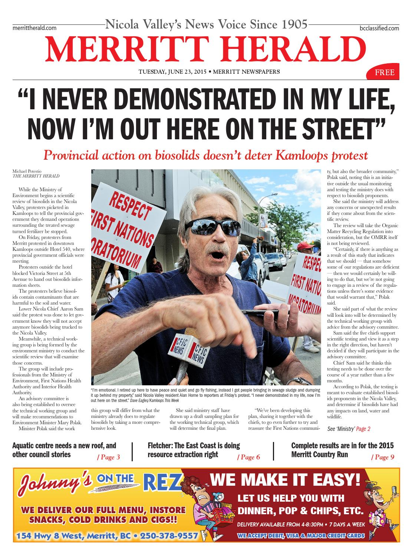 55aa133c64 Merritt Herald - June 23