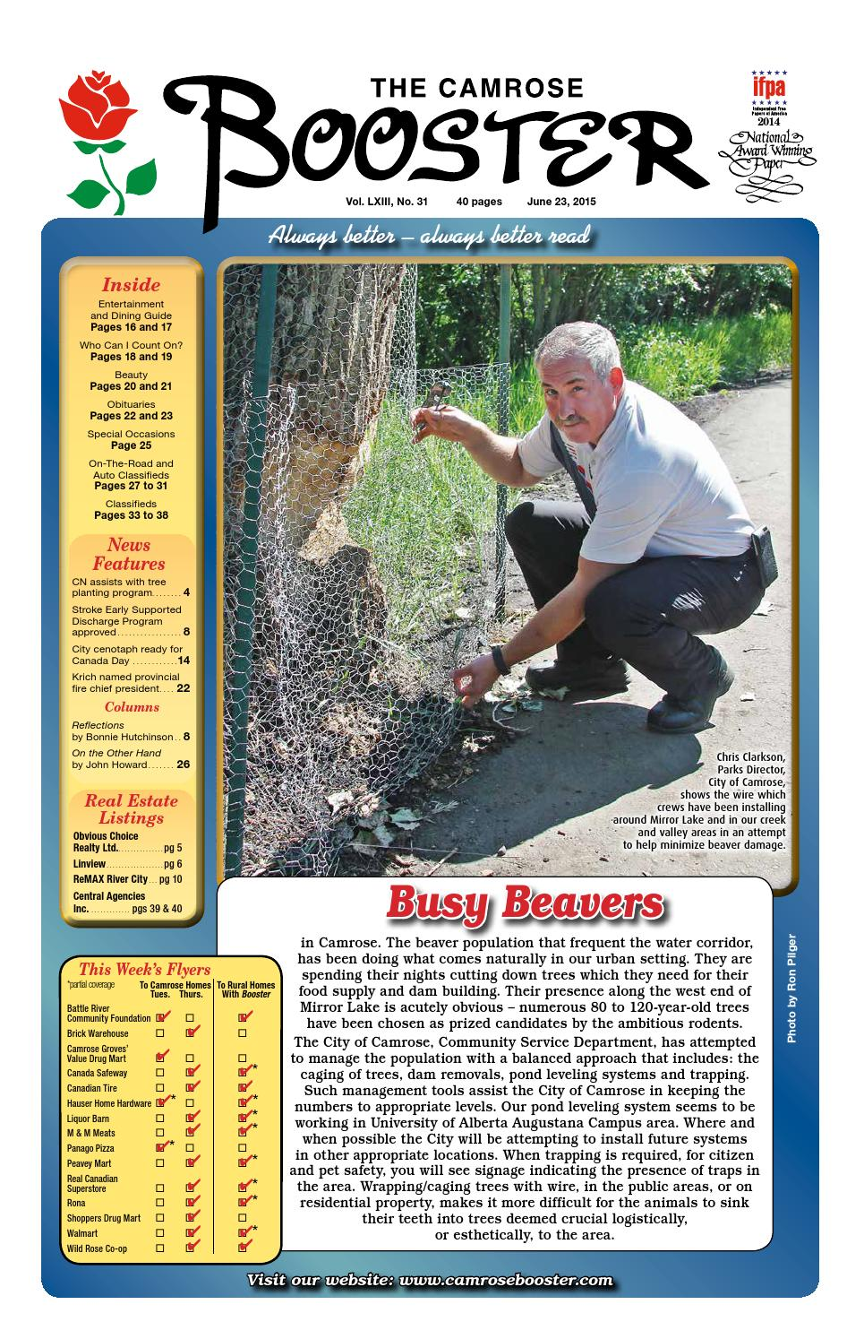 June 23 2015 Camrose Booster By The