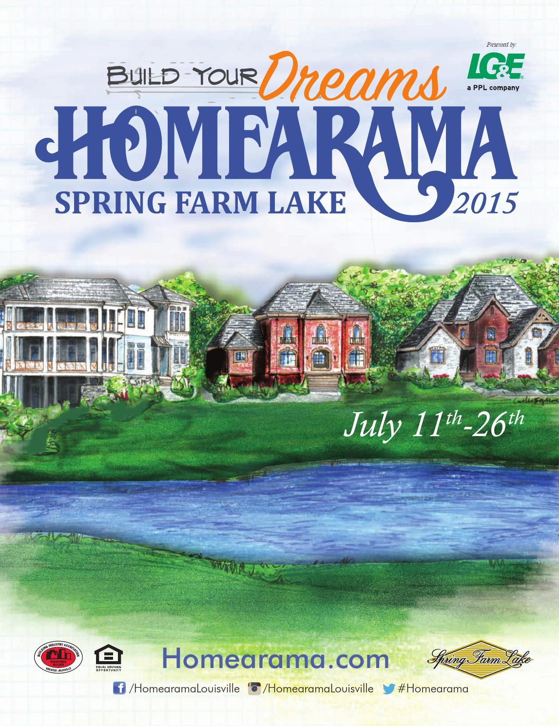 2015 Homearama Plansbook