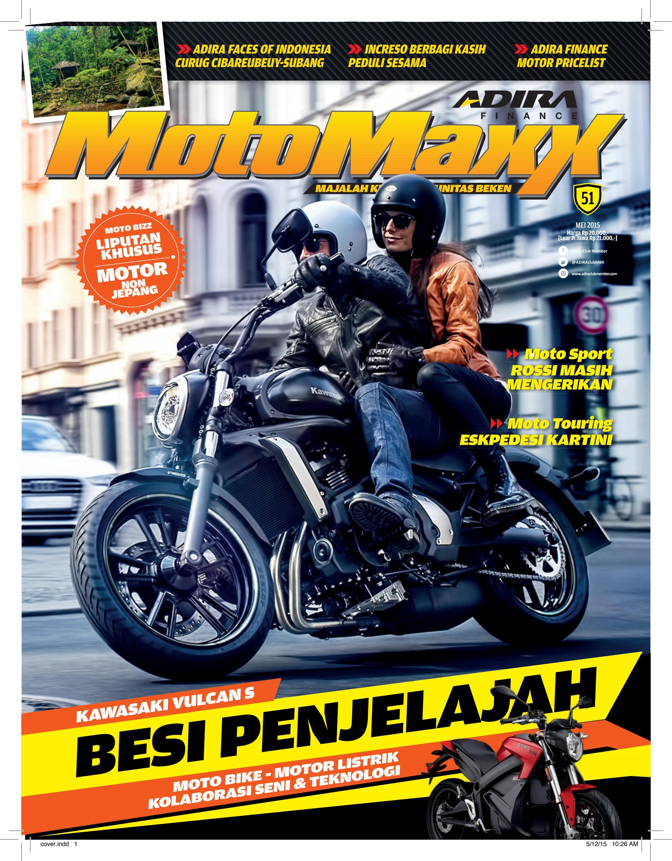 Motomaxx 03 2016 By Adira Member Issuu All New Beat Sporty Esp Cbs Iss Soul Red White Tegal 05 2015