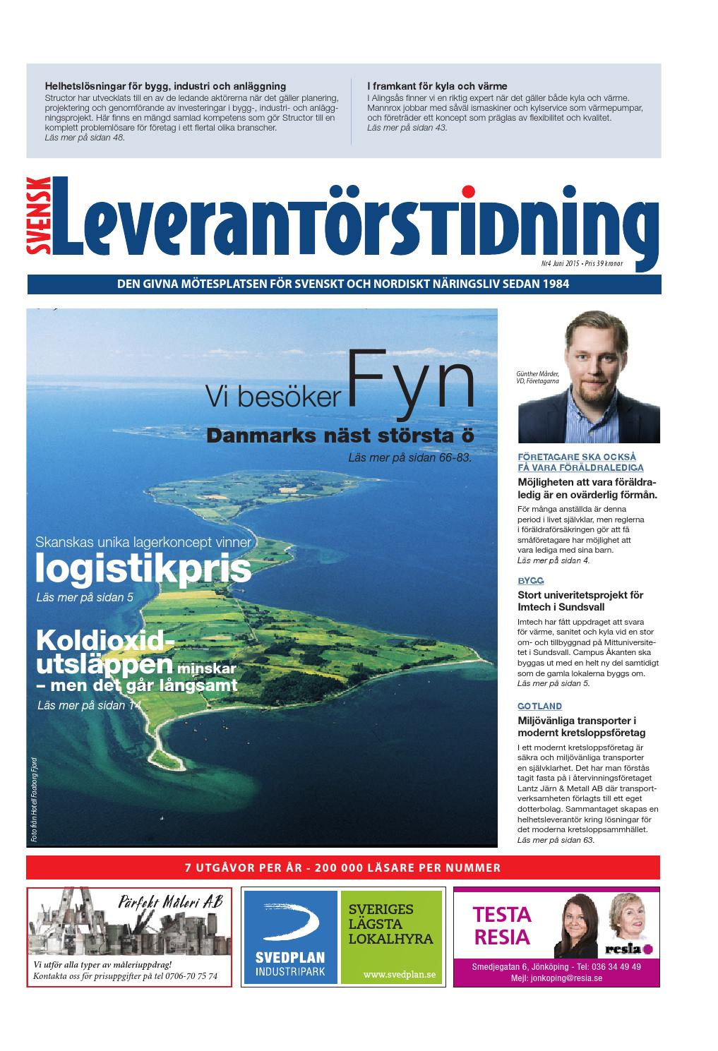 Svensk Leverantörstidning nr-4 2015 by Hexanova Media Group AB - issuu 7a9f831edc8a7