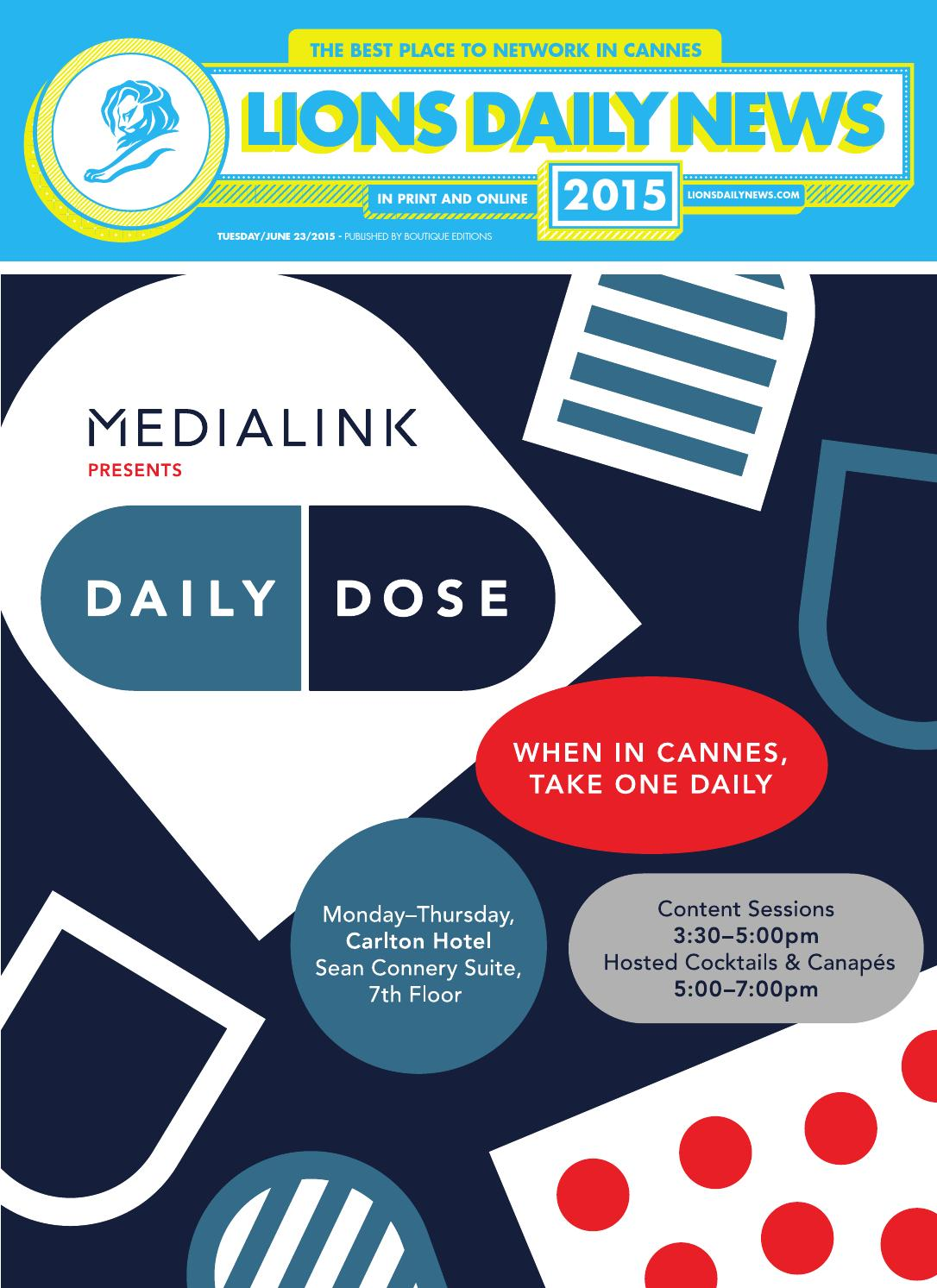 Lions Daily News 2015 Issue 4 by Boutique Editions - issuu