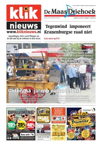 2b4d56dd1ac Nieuwsblad De Maas Driehoek ed sg week 26 2015 by Uitgeverij Talvi ...