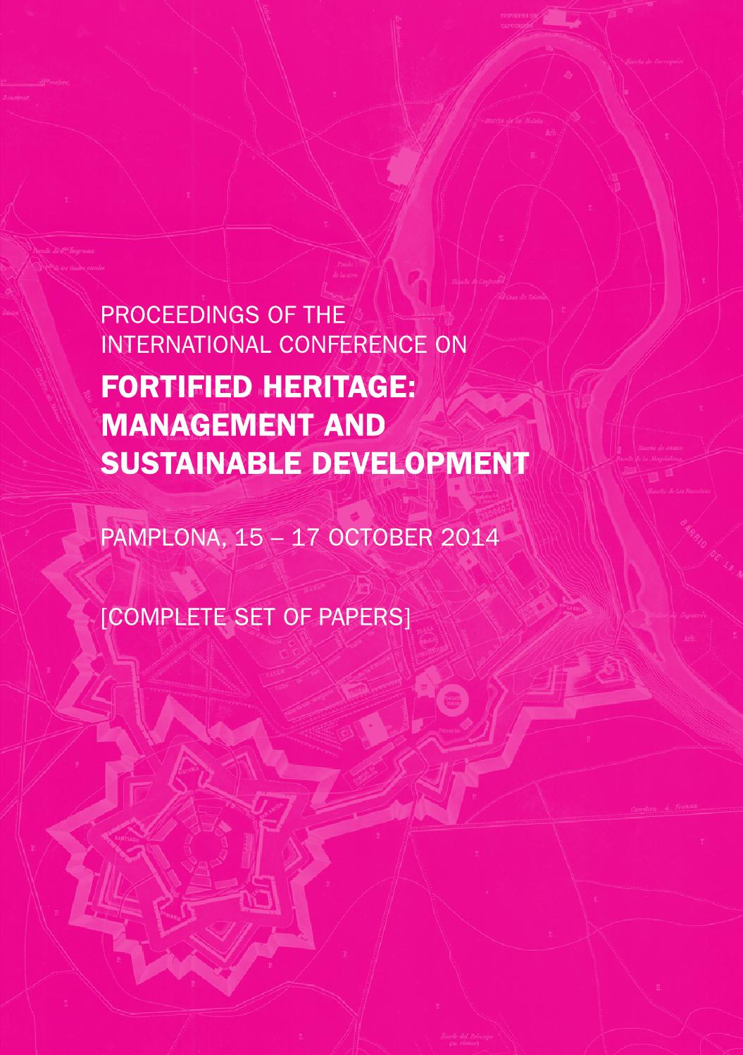 Fortified Heritage: Management and sustainable development Part 1 by ...