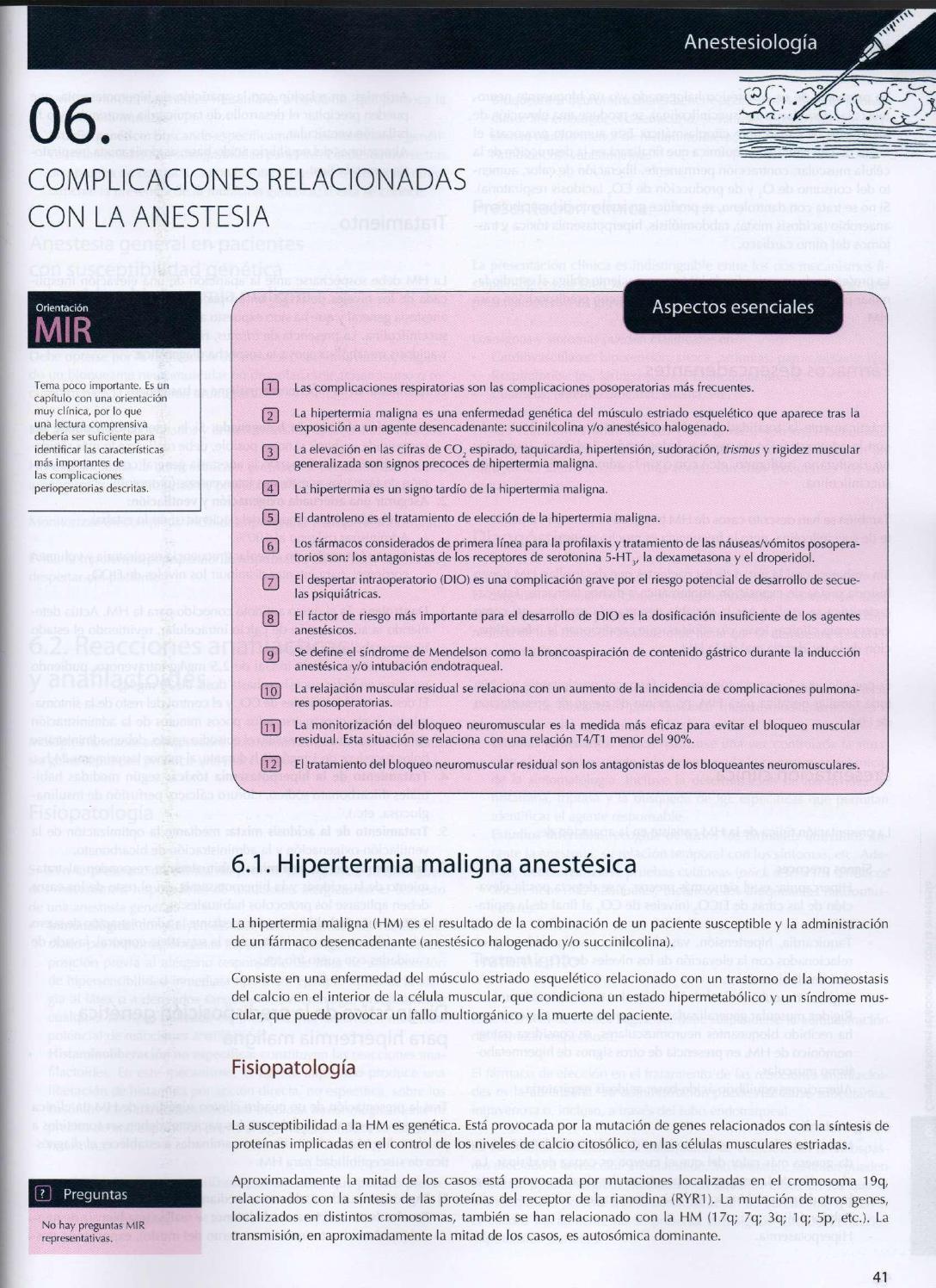 Hipertensión maligna y anestesia