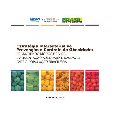 Estratégia Intersetorial de Prevenção e Controle da Obesidade ... 3f3e83123e7