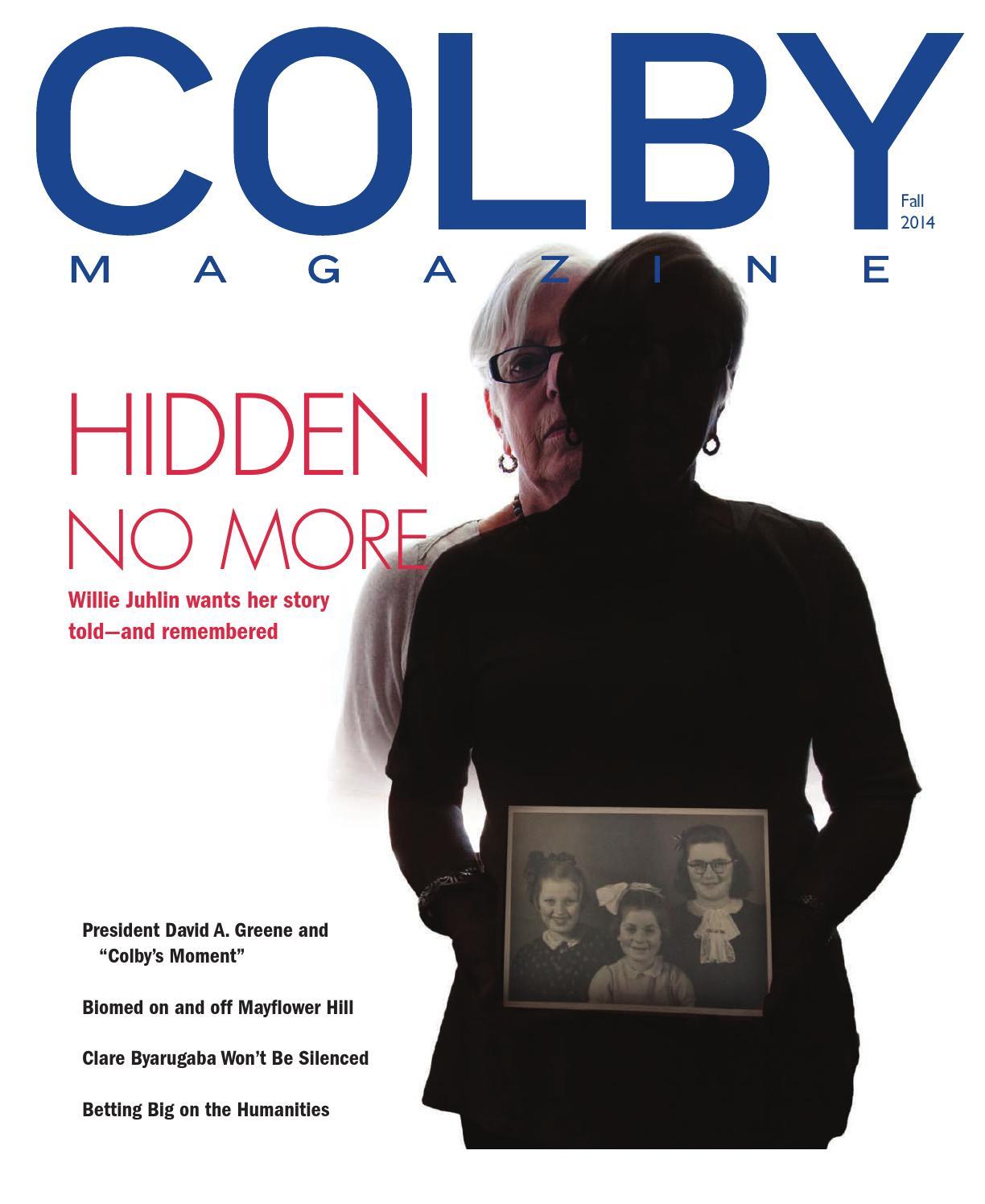 Colby Magazine Vol 103 No 2